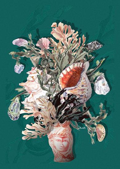 Etna Bouquet A4 Print