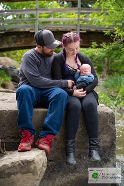 Rianna & Joey Family