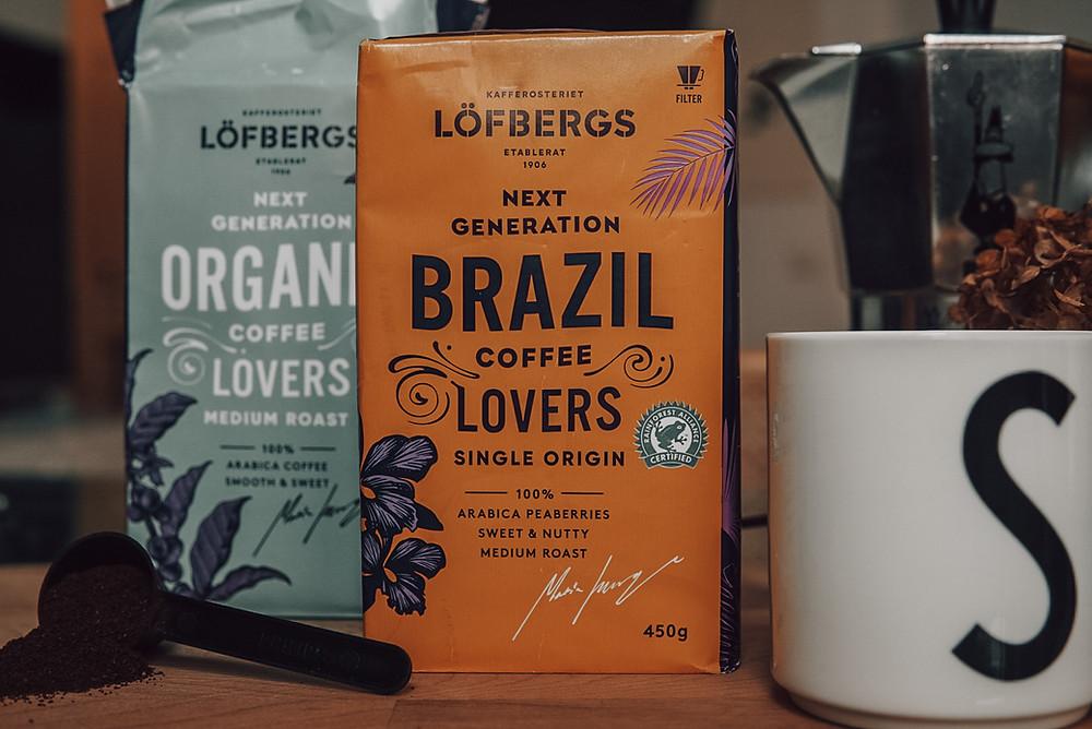Löfbergin kestävän kehityksen ohjelma, Next Generation -kahvit