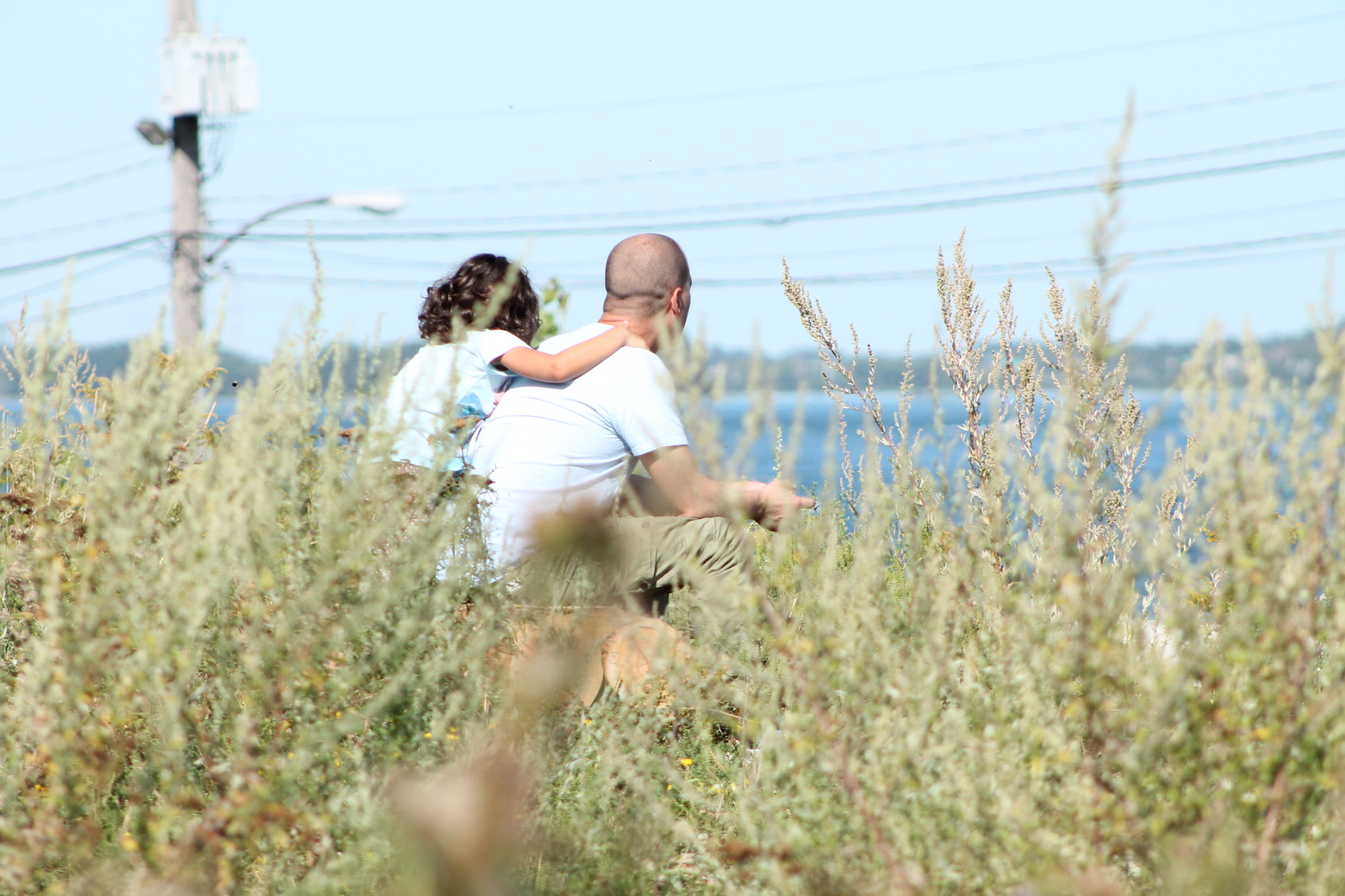 Pere et fille en contemplation_EIM 2018 ccEL