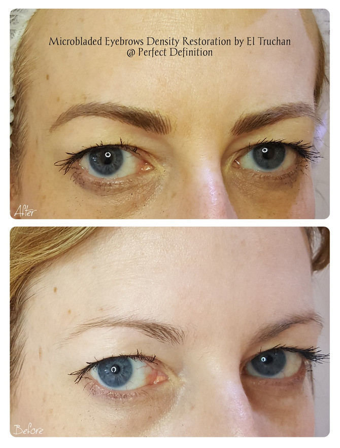 Microbladed Eyebrows Density Restoration by El Truchan @ Perfect Definition