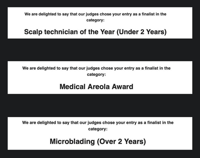 OMG I AM MELTING! Not one, not two but THREE CATEGORIES I'm a FINALIST in!!!