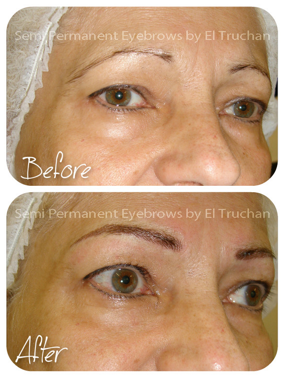 semi permanent eyebrows natural look
