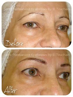 semi permanent eyebrows natural look