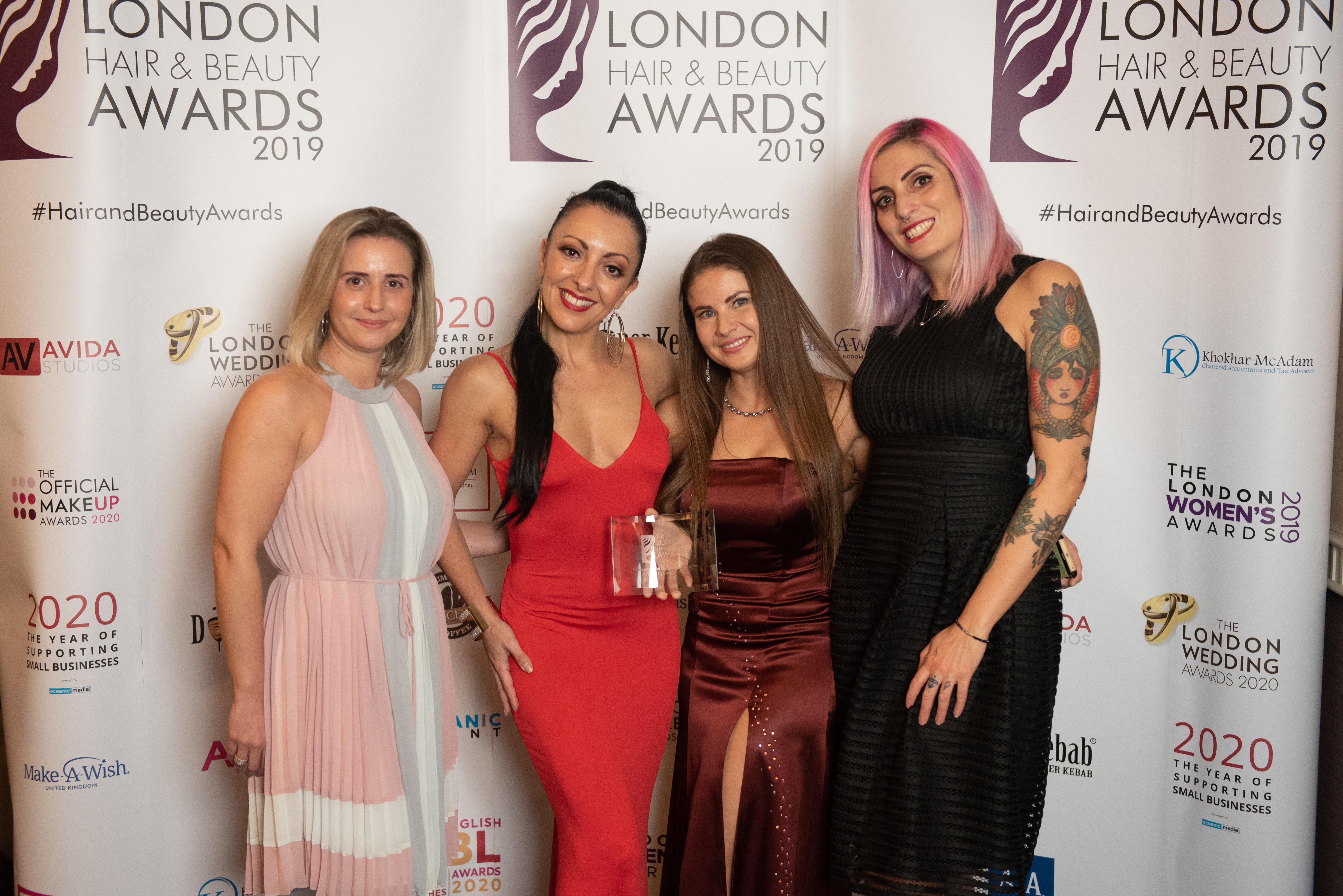 El Truchan winner of London Hair&Beauty