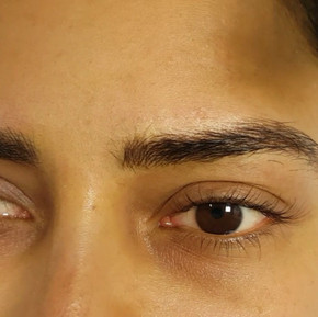 Added Density Eyebrows Microblading by E
