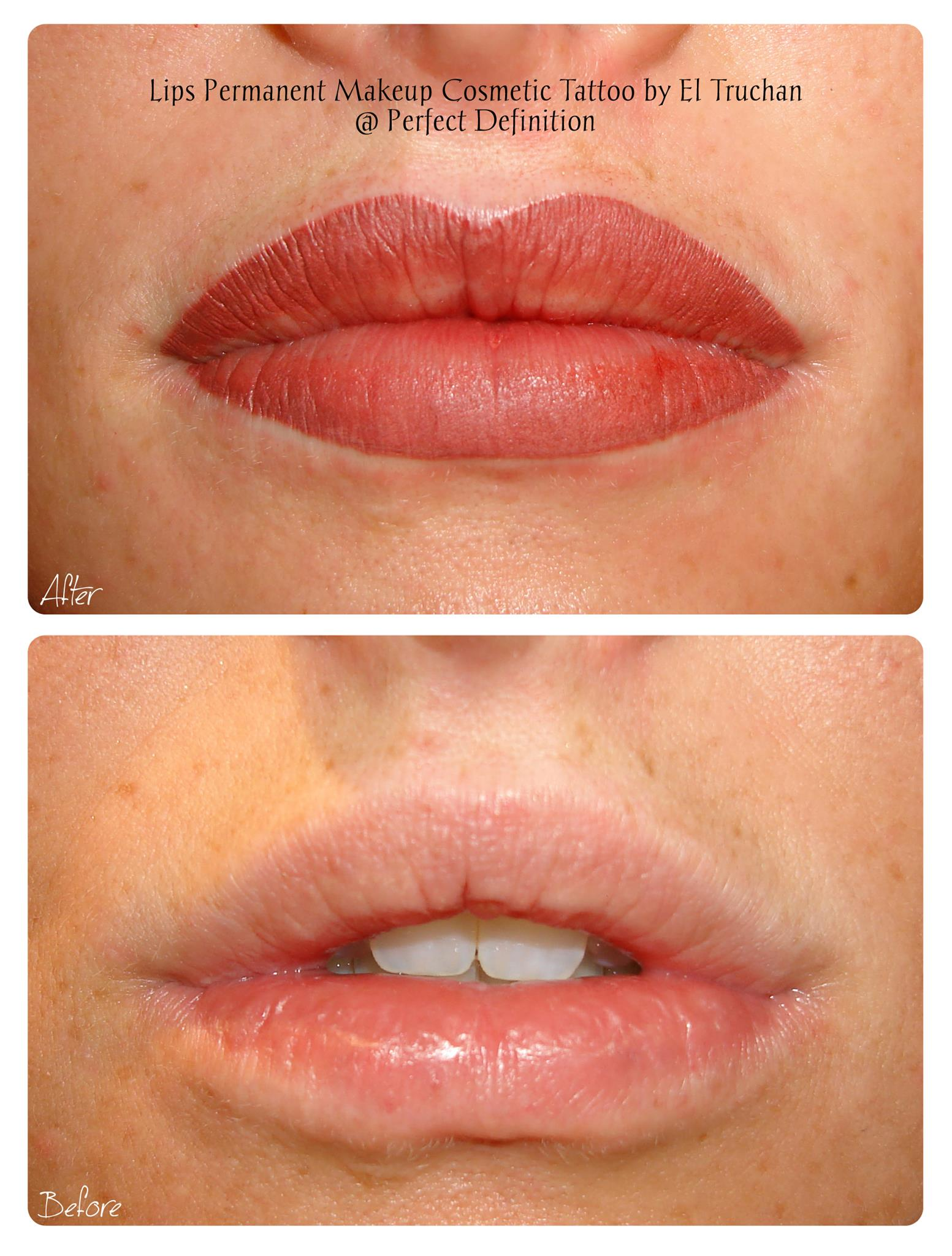 Lips Permanent Makeup Cosmetic Tattoo