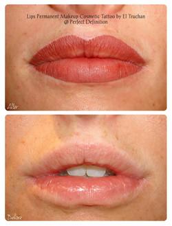 Lips Permanent Makeup Cosmetic Tattoo