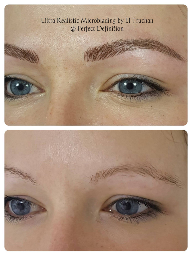 3D Microblading Eyebrow Restoration by El Truchan @ Perfect Definition