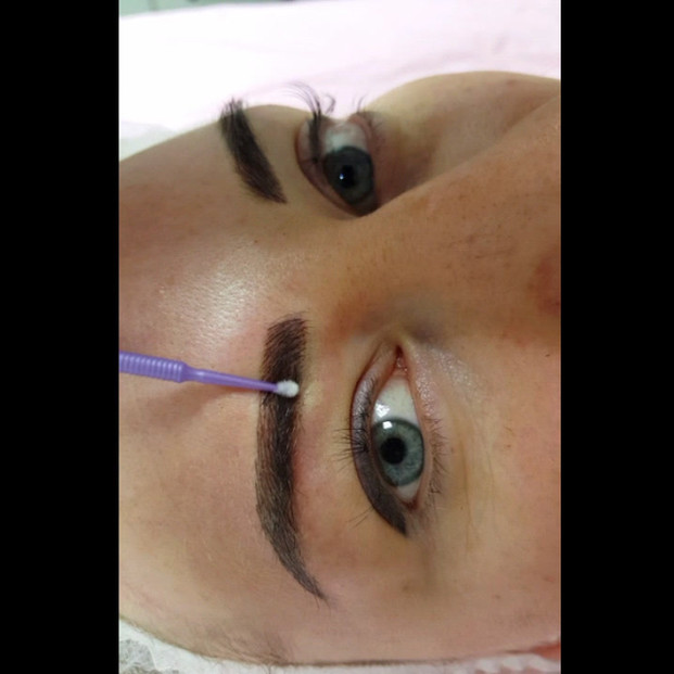 3D Structured Eyebrows Permanent Makeup