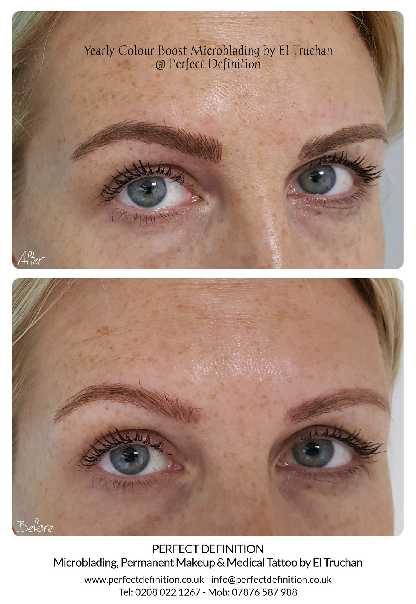 Yearly Colour Boost Microblading by El T