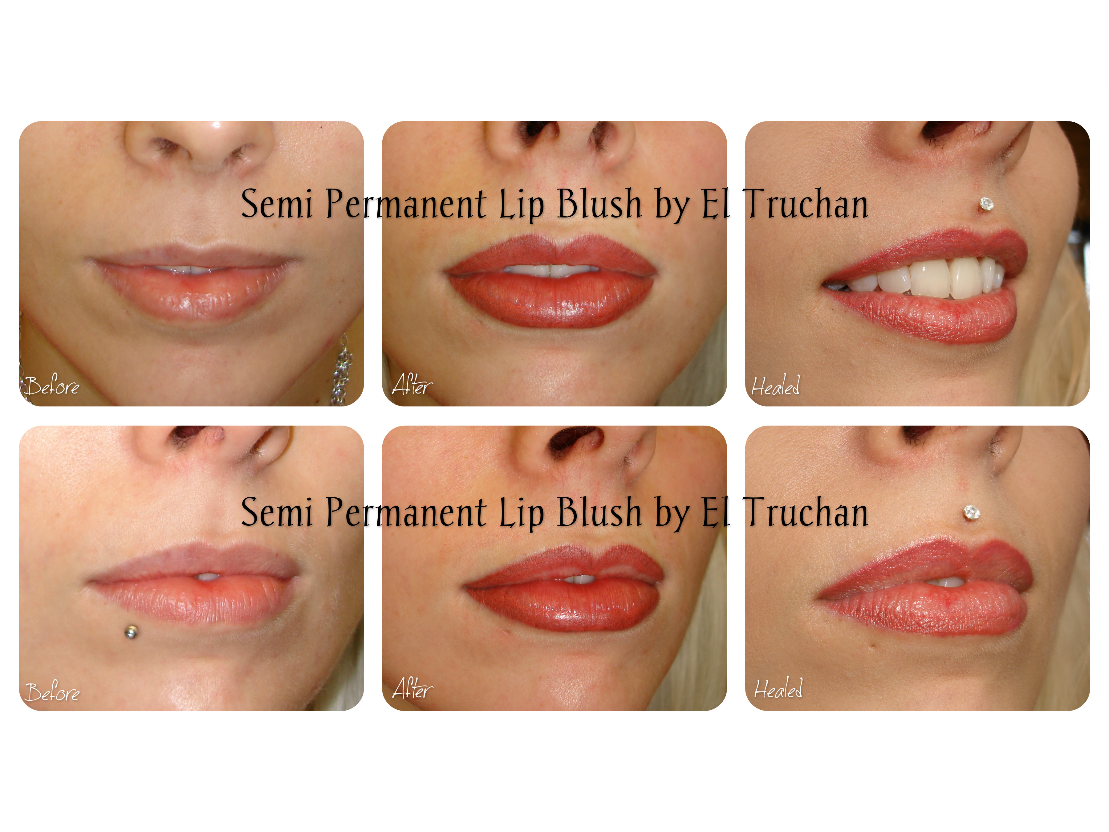 Semi Permanent Lip Blush by El Truchan CPCP