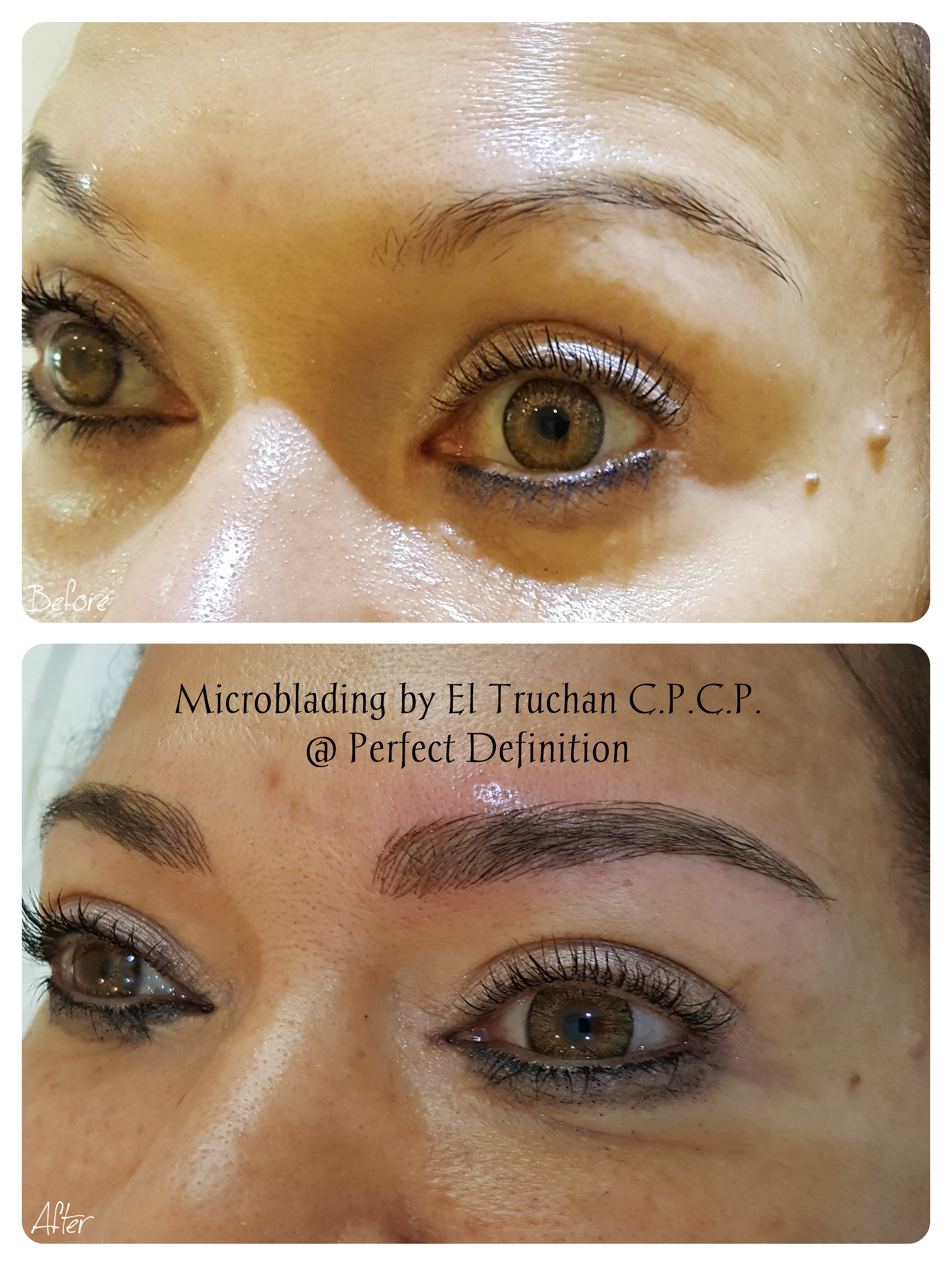 Microbladed Eyebrows by El Truchan _ Perfect Definition