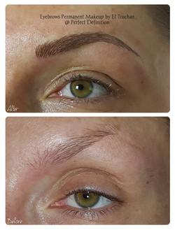 Eyebrows Permanent Makeup by El Truchan