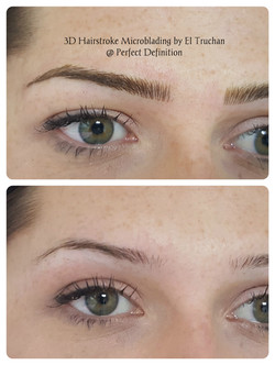 3d Hairstroke Microblading by El Truchan. _ Perfect Definition
