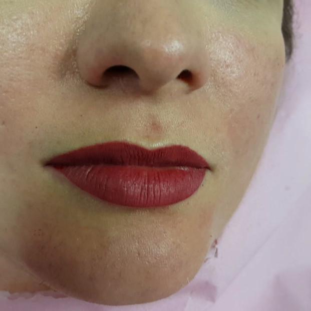 Lips Micropigmentation Permanent Makeup by El Truchan