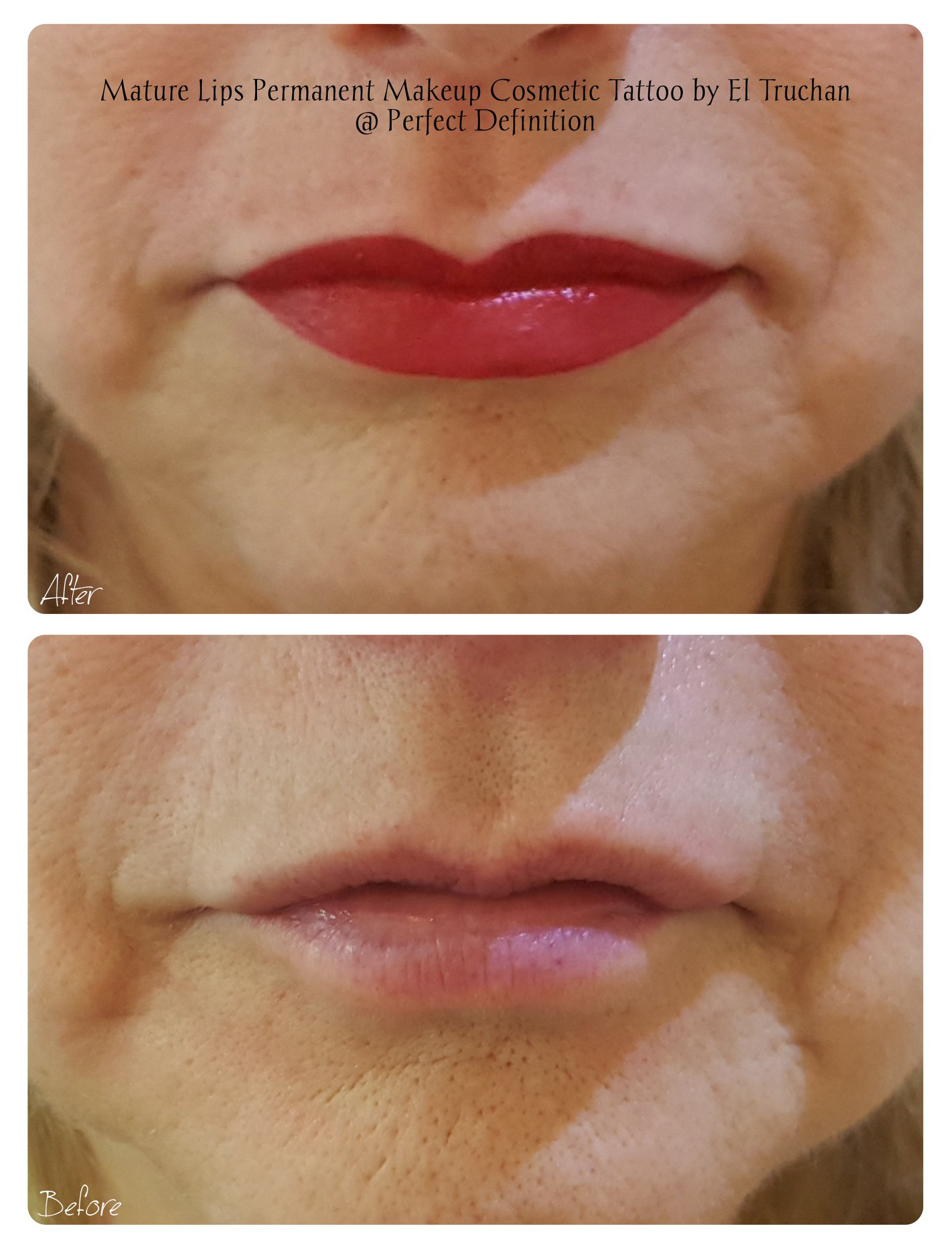 Mature Lips Permanent Makeup Cosmetic Ta