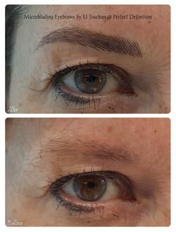 Microblading Eyebrows by El Truchan