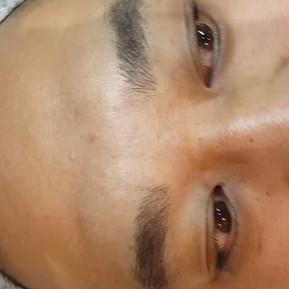 Male Realism Microblading Eyebrows by El