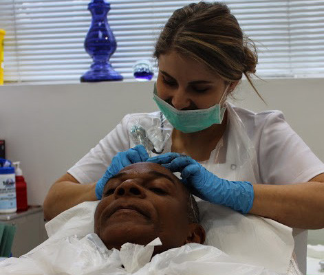 Scalp Micropigmentation Hair Simulation Tattoo SMP by El Truchan CPCP @ Scalp Micro Definition