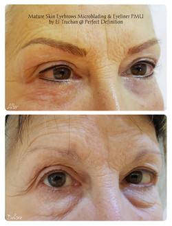 Mature Skin Eyebrows Microblading & Eyle