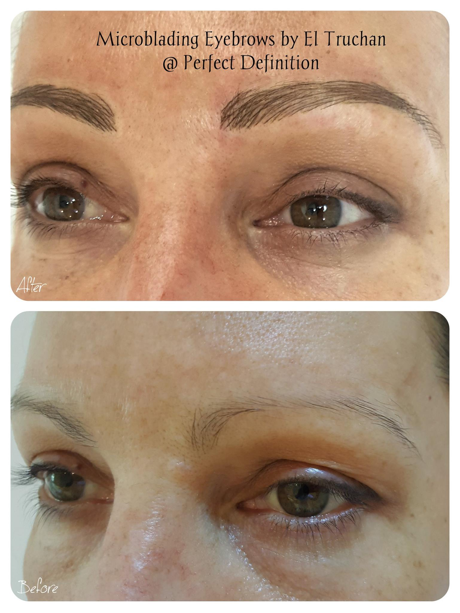 Microblading Eyebrows El Truchan
