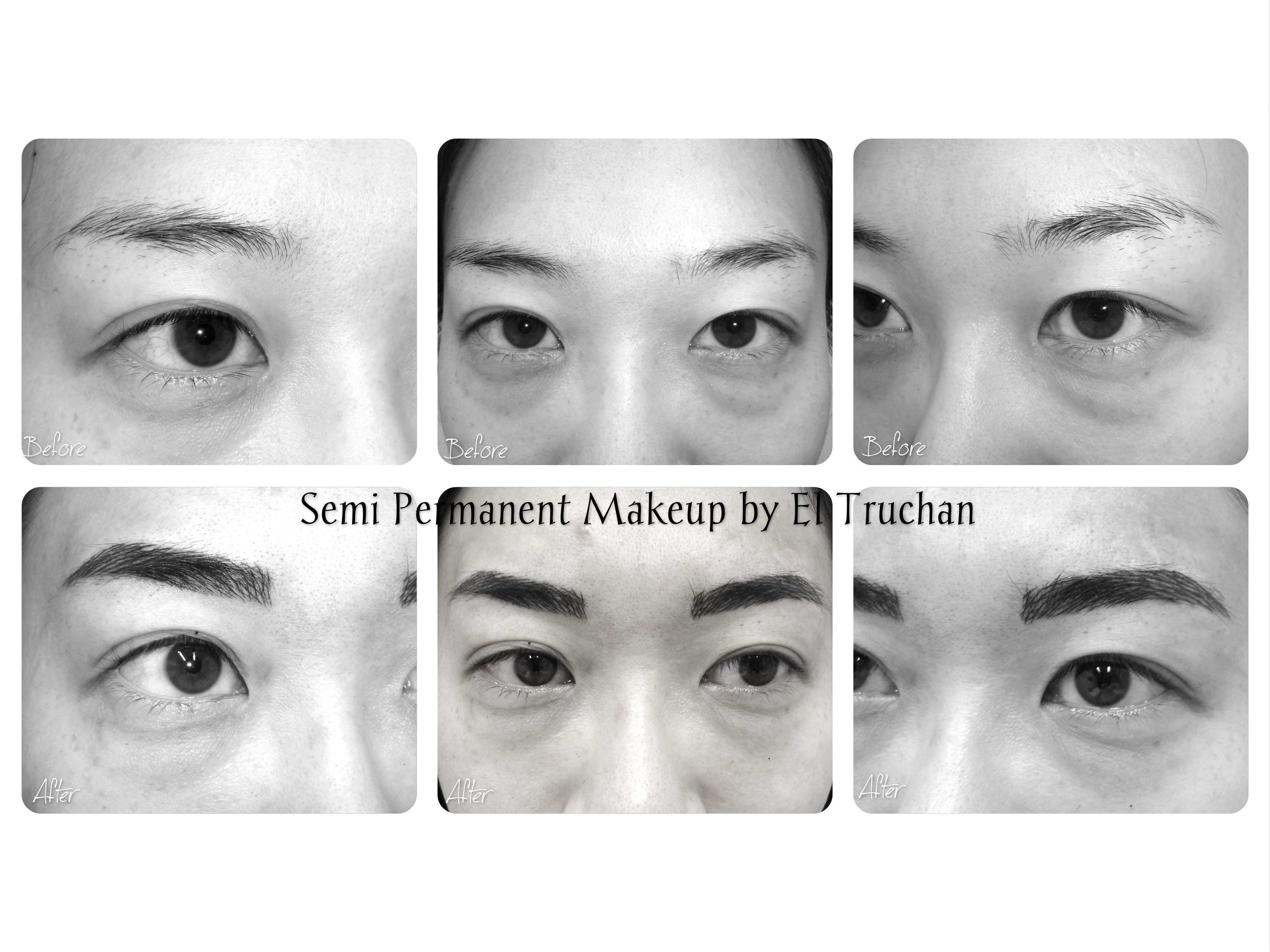 Permanent Makeup Eyebrows by El Truchan
