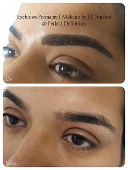 Permanent Eyebrow Makeup Hair