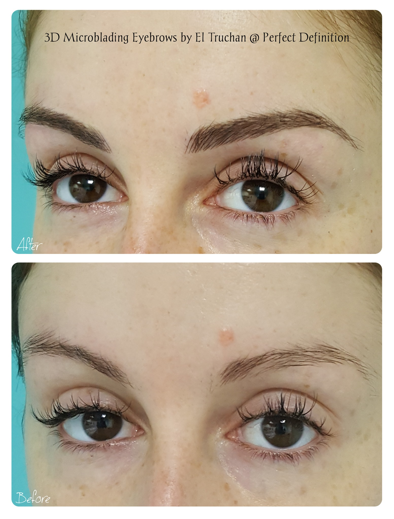3D Microblading Eyebrows by El Truchan @
