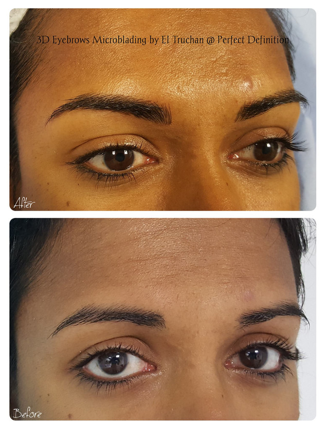 3D Eyebrows Microblading by El Truchan @ Perfect Definition