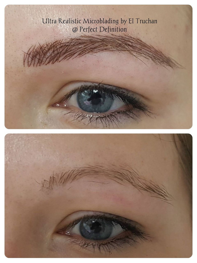 Eyebrow Microblading by El Truchan @ Perfect Definition