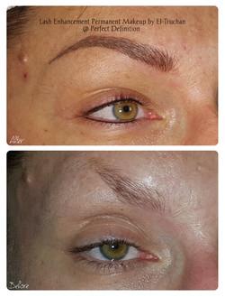 Lash Enhancement Permanent Makeup by El