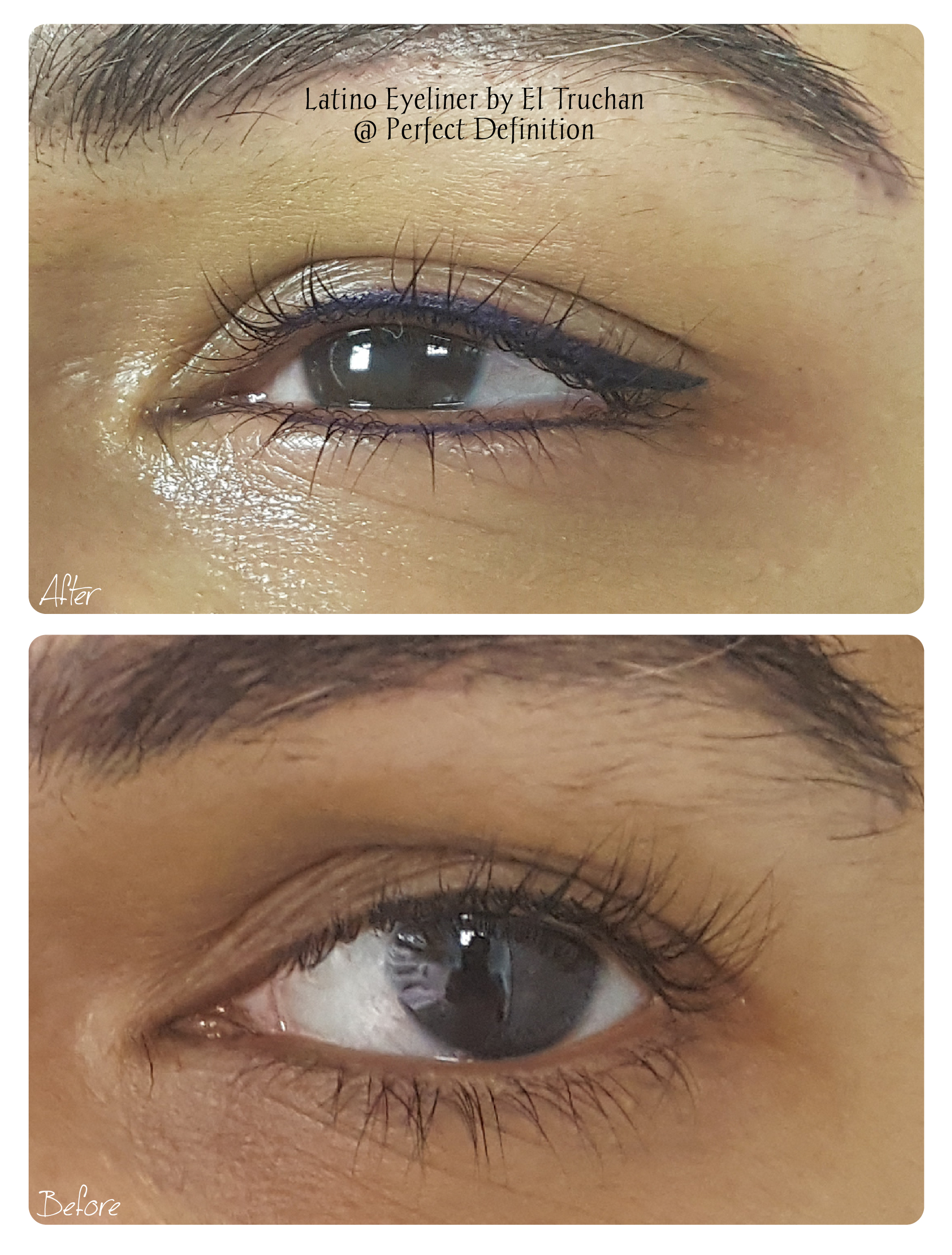 Latino Eyeliner by El Truchan _ Perfect Definition 907