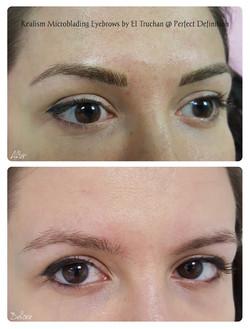 Realism Microblading Eyebrows by El Truc
