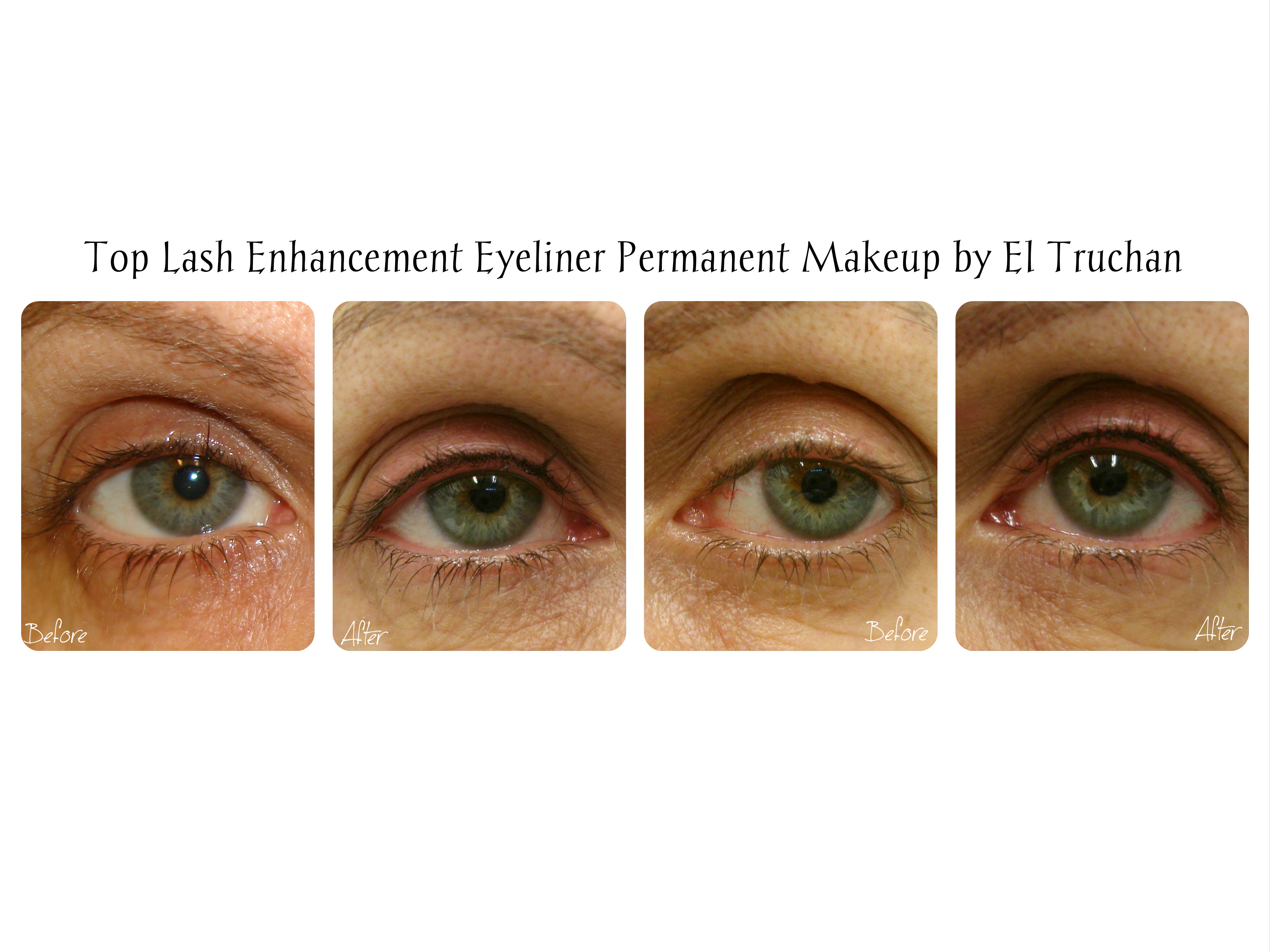 Permanent makeup Eyeliner by El Truchan