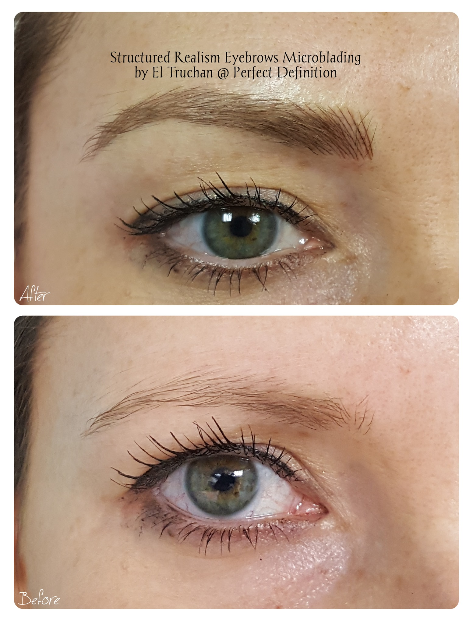 Structured Realism Eyebrows Microblading