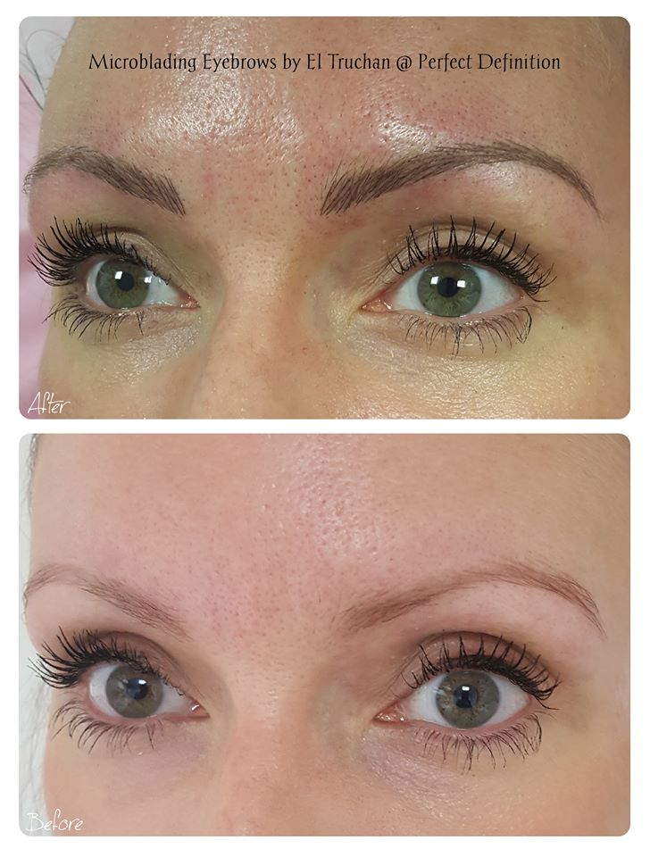 Microblading Eyebrows by El Truchan at Perfect Definition