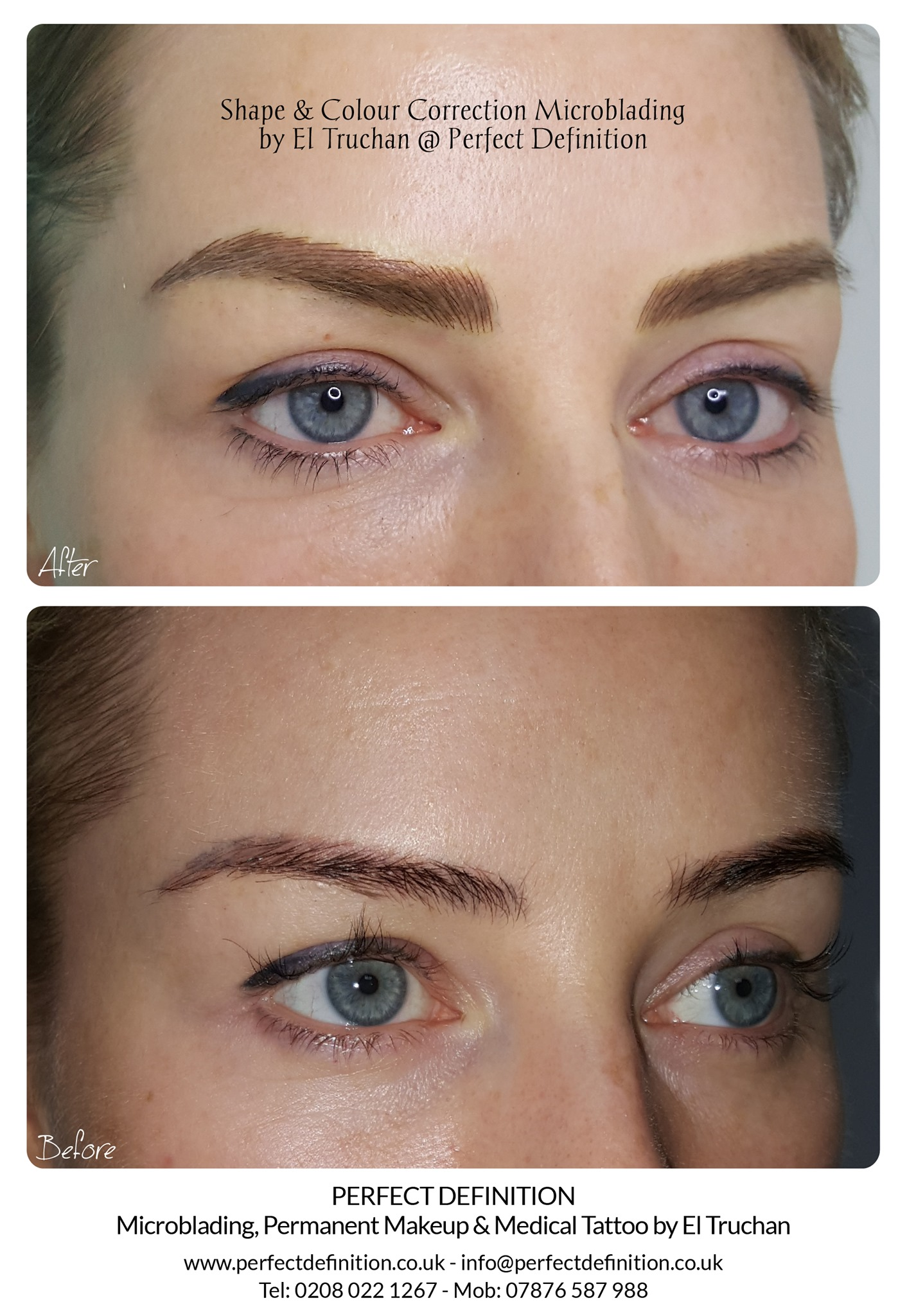 Shape & Colour Correction Microblading b