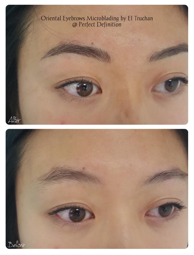 Oriental Eyebrows Microblading @ Perfect Definition by El Truchan