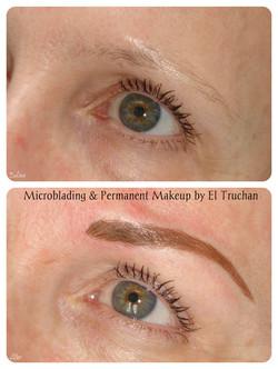 Combination brow Microblading & PMU by El Truchan