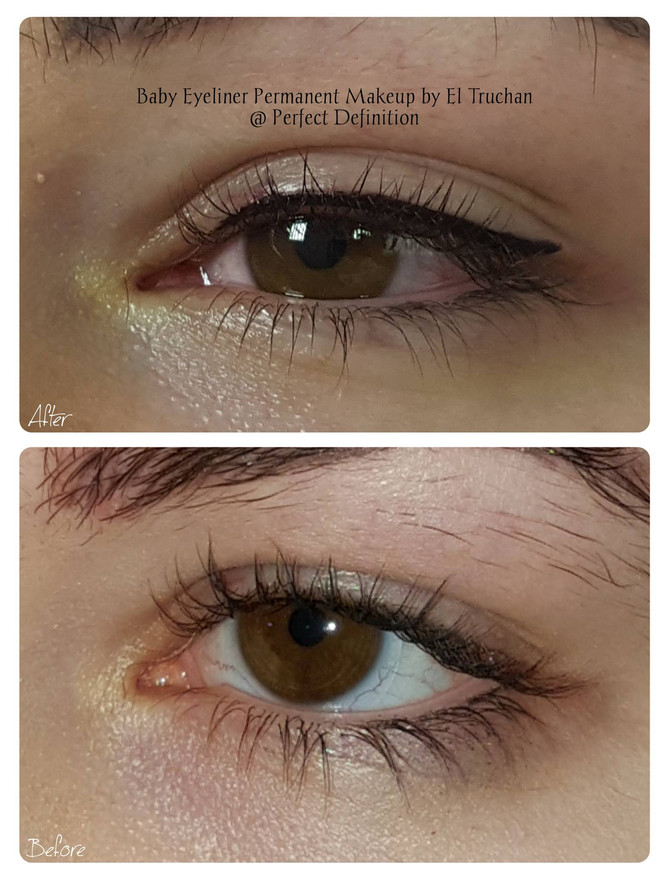 Baby Eyeliner Permanent Makeup by El Truchan @ Perfect Definition
