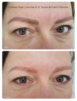 Eyebrow Shape Correction