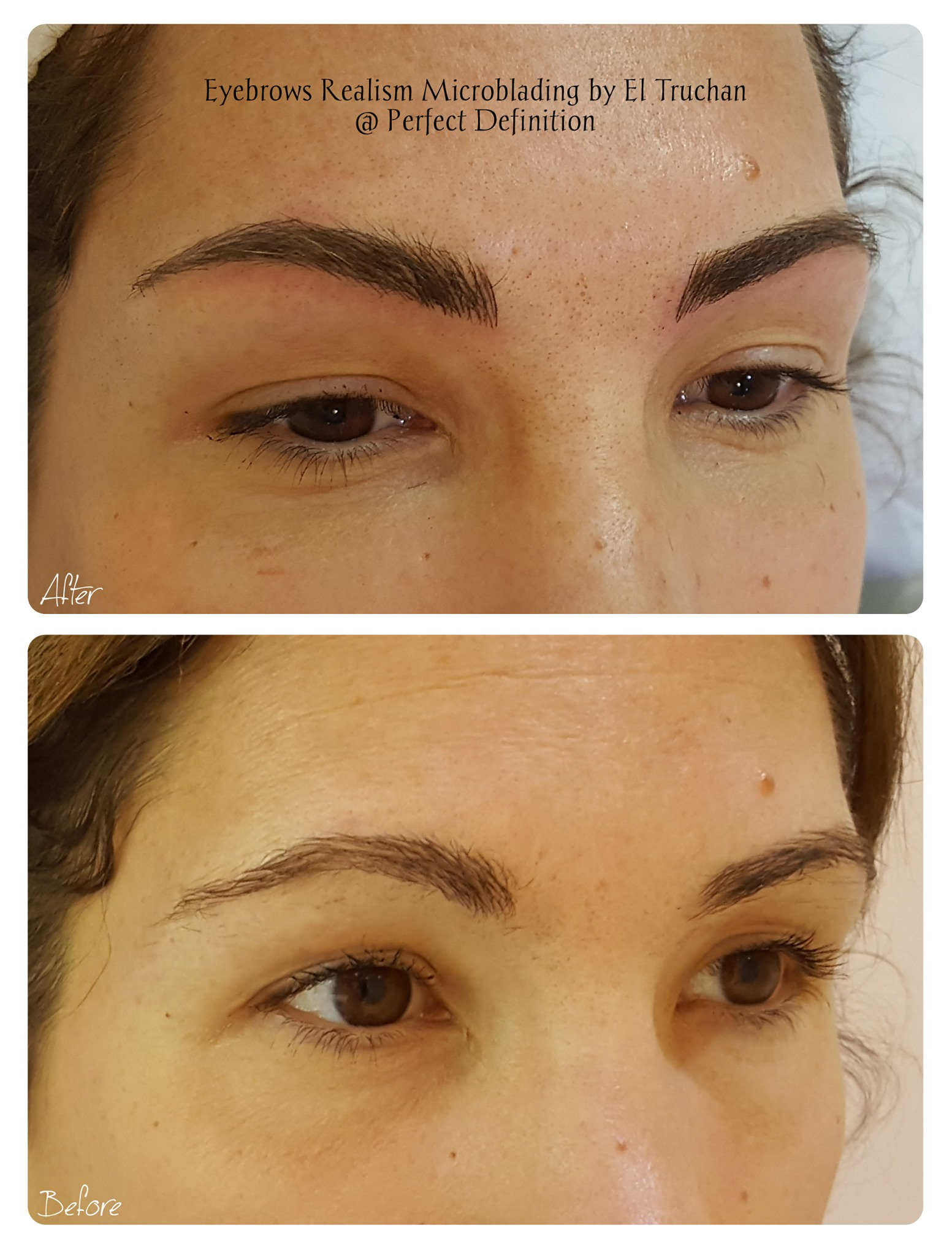 Eyebrows Realism Microblading by El Truc