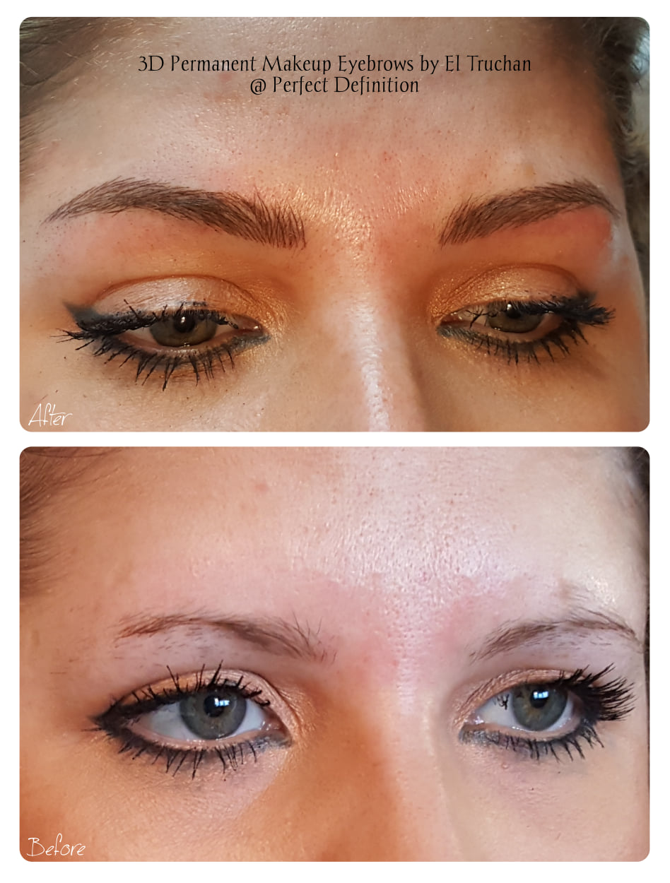 3D Permanent Makeup Eyebrows by El Truch