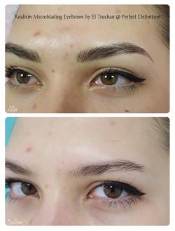 Realism Microblading Eyebrows by El Truchan