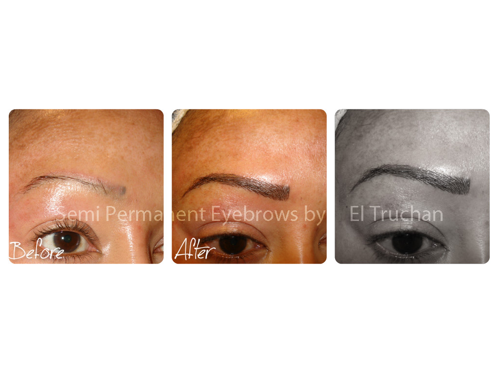 Semi Permanent Eyebrows Correction by El Truchan