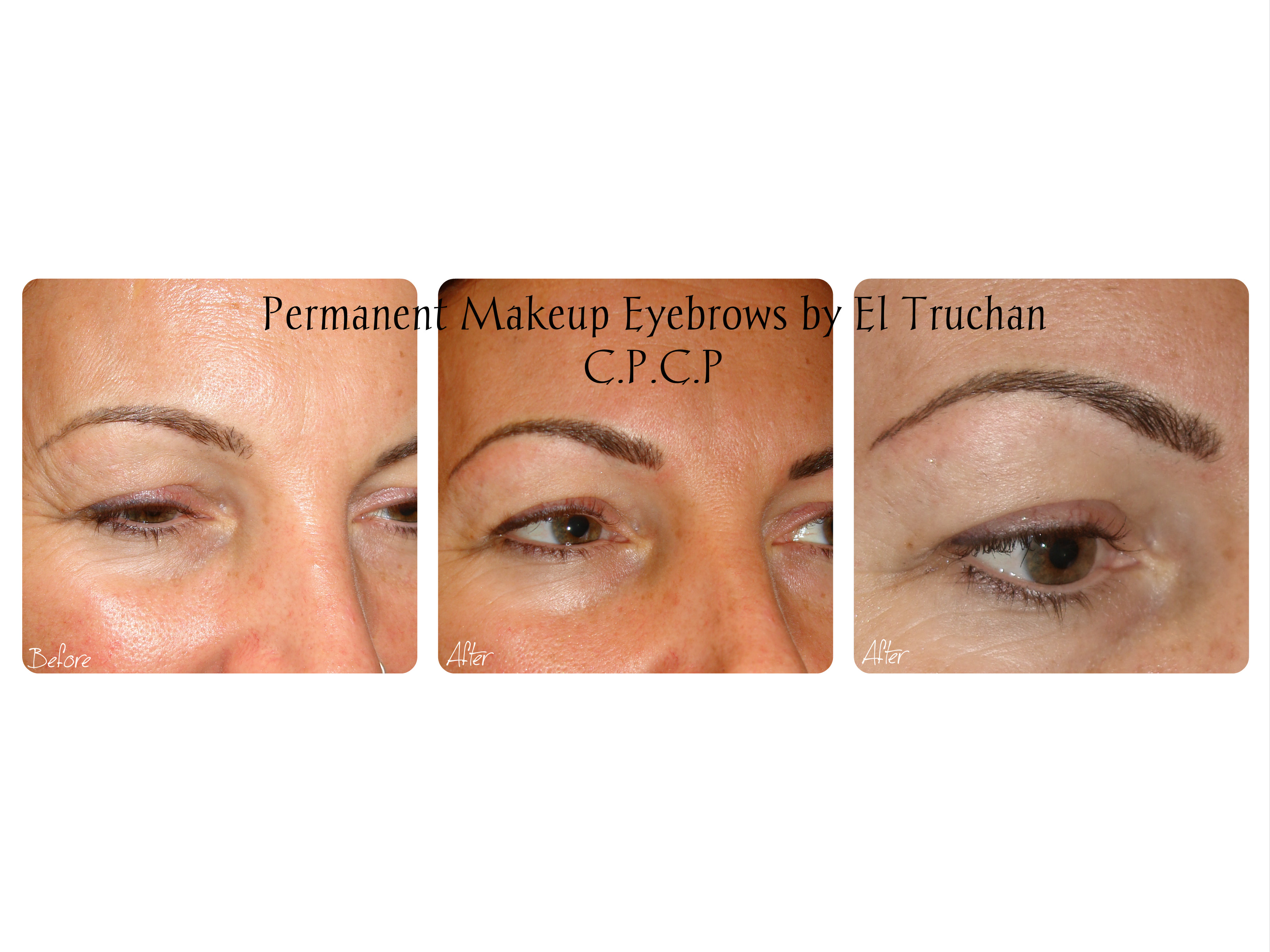 Eyebrows Permanent Makeup by El Truchan CPCP London
