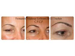 Eyebrows Permanent Makeup by El Truchan CPCP London
