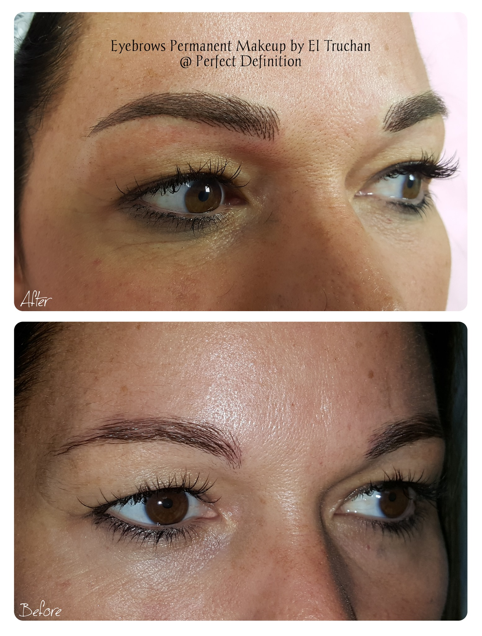 Eyebrows Permanent Makeup by El Truchan