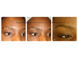 Natural Microbladed Eyebrows